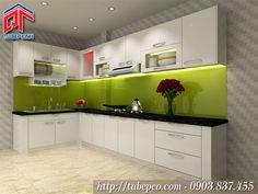 Mẫu tủ bếp TBX172