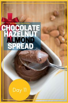 Move over Nutella, there's a new spread in town. No palm oil and chuck full of delicious chocolate, hazelnuts and almonds.   #recipe #christmas #christmasgift  https://cooking-classes-uzes.com