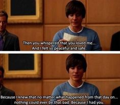 17 again- I don't think people give Zac Efron enough credit as a fantastic actor. Tv Show Quotes, Film Quotes, Quotes From Movies, 17 Ans Encore, 17 Again Movie, Favorite Movie Quotes, Movie Lines, Romance Movies, Good Movies
