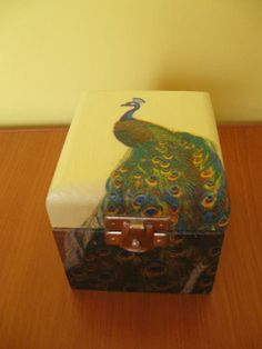 Peacock box made by Basia