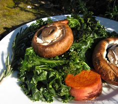 Rosemary Mushrooms and Kale3