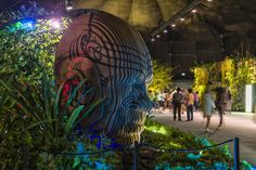 Singapore Flower Festival 2016 for New Zealand - Modern Day Maui by Adam Shuter