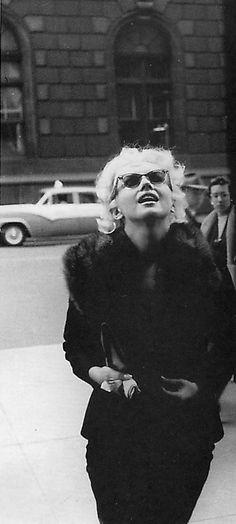 Marilyn photographed by Ed Feingersh