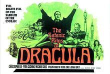 1973 Satanic Rites of Dracula UK