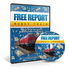 Free Report Money Train -   Learn Exactly How Providing Info Via FREE REPORTS Can Easily Grow Your List & Profits!
