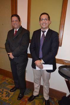 Dr. José Berdecía- Consejo Asesor Michael Rivera - FBLA pasado Presidente Estatal y el Maestro de Ceremonia de nuestras convenciones