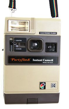 Instant Camera Kodak PartyFlash Made in USA