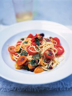 Summer Spaghetti | Pasta Recipes | Jamie Oliver Recipes