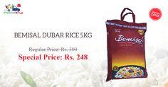 Shop Online for Bemisal Basmati Rice at Less Than MRP Only on Kiraanastore.