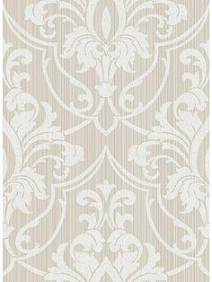 DecoratorsBest - Detail1 - CS 88/8034 - ST PETERSBURG DSK TAN - Wallpaper - DecoratorsBest