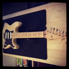 A l'atelier : Fender Strat Buddy Guy Signature