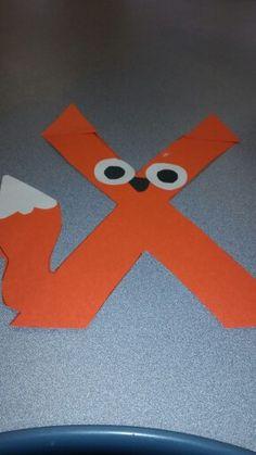 Kindergarten activities to learn letters