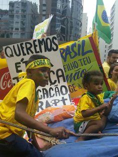 Manifestação Histórica contra corrupção. 13 de março de 2016