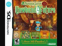 Professor Layton and the Unwound Future Soundtrack: Chinatown. Composed by Tomohito Nishiura.