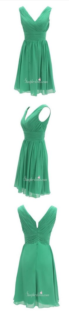 2016 bridesmaid dress, short bridesmaid dress, green bridesmaid dress, wedding party dress