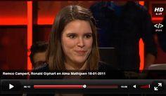 Alma Mathijsen is groot bewonderaar van het werk van Remco Campert en vertelt waarom in De Wereld Draait Door (2011).