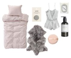 """""""Untitled #282"""" by theglossiernerd ❤ liked on Polyvore featuring H&M, Diptyque, women's clothing, women, female, woman, misses and juniors"""