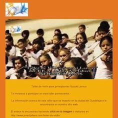 Te invitamos.-                                                  http://www.jovartjalisco.com/taller-de-violin/ Check out this GoDaddy-powered newsletter