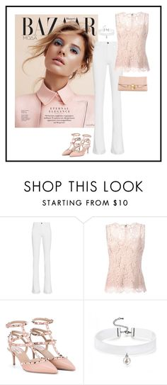 """Rh - 869"" by randeee ❤ liked on Polyvore featuring Frame Denim, Dolce&Gabbana, Valentino and Chloé"