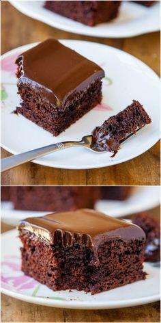 I love this Chocolate Cake With Chocolate Ganache