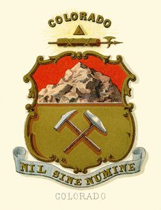 Colorado State Coat of Arms – 1849?