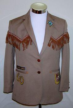 Women's Vintage Kenny Rogers Western Collection Custom Side Show Blazer Size 10 #KennyRogers #Blazer