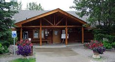 Eagle River Nature Center - Eagle River, Alaska The Nature Center is one of my favorite places to head to for a short hike. The mountain surrounding are stunning, and there's a good chance you'll see a bear especially once the salmon start spawning. You can take a short hike close to the center or venture all the way down Crow Pass.