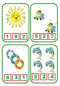 Back to School Count and Clip Cards Counting Activities, Toddler Activities, Classroom Fun, Classroom Activities, Flashcards For Kids, Kindergarten Math Worksheets, Learning Numbers, Kids Writing, Booklet