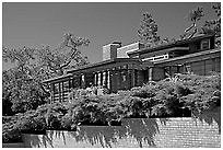 The Hanna Honeycomb House, reminiscent of Fallingwater, was designed by Frank Lloyd Wright, starting in '37.  Located on the Stanford University campus, it was his first project in the San Francisco area, and featured an hexagonal design.  Did you know I studied architecture at UT for two years?  Still fascinated by art deco and mid-century design.