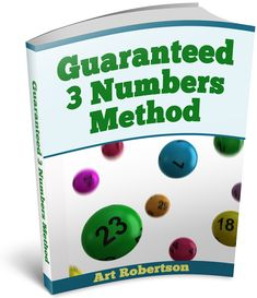Find out how you can win at Pick-3 lottery games with The Guaranteed 3 Numbers Method. http://www.guaranteed3numbers.com