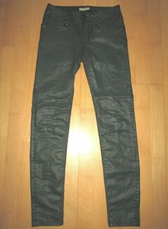 * * * BURBERRY BRIT Westbourne Skinny Ankle Jeans grün, Gr.26 * * * Burberry Brit, Skinny Ankle Jeans, Parachute Pants, Leather Pants, Ebay, Fashion, Clothing Accessories, Leather Jogger Pants, Moda