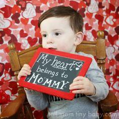 Tall Mom tiny baby: Toddler Valentine's Day Mini Photo Session Ideas