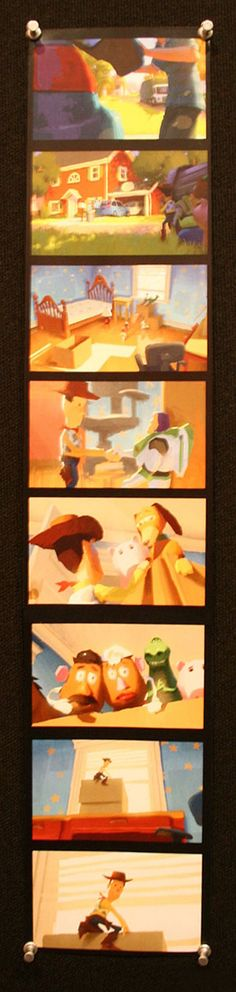 Living Lines Library: Toy Story 3 (2010) - Color Scripts