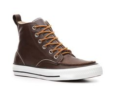 Converse Mens Chuck Taylor All Star Classic Hi Leather Boot