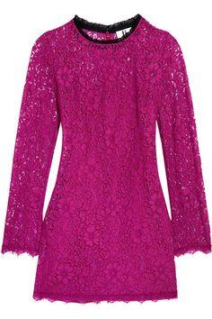 TOPSHOP UNIQUE Tybalt corded lace mini dress. #topshopunique #cloth #dresses