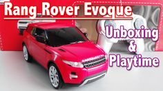 Rang Rover Evoque: Toy Car Unboxing and Playtime   Toys For Kids