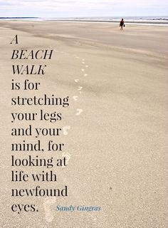 A Beach Walk on Cumberland Island Beach, one of the longest beaches in the US:  #quotes
