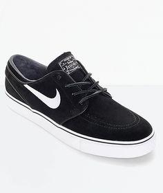 c038beec0c5c3 Nike SB Janoski OG Black  White Suede