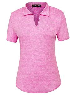 7c883c40 Women's Short Sleeve Sports Moisture-Wicking Polo Shirt T-Shirt Tops