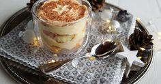 Bratapfel-Tiramisu im Glas, Dessert Weihnachtsmenü