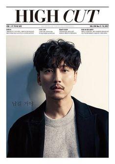 Kim Nam Gil sits for the cover of High Cut Vol. The last 3 photos are BTS, LOL. Jung Ii Woo, Kang Chul, Korean Face, Running Man, High Cut, Korean Actors, My Boys, My Idol