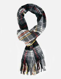 Plaid scarf // $22