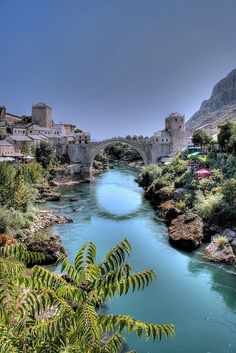 Stari Most, Mostar, Bosnia and Herzegovina.