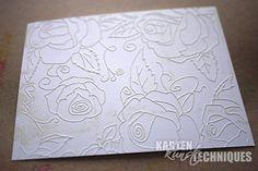 Prägeschablonen sind sehr vielseitig: man kann Papier oder Metall prägen, die geprägten Hintergründeeinfach so verwenden, oder man kann sie einfärben, die Prägeschablonen lassen sich zum Stempeln benutzen, oder teilen. Nun [...]