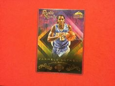 2016/17 Panini Court Kings 5 X 7 Box Topper CARMELO ANTHONY ROOKIE ROYALTY #DenverNuggets