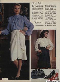 Ad Fashion, Office Fashion Women, Fashion Catalogue, Fashion History, Vintage Fashion, Classy Women, Classy Lady, Sexy Blouse, Fashion Marketing