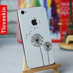 Apple iPhone Decal iPhone 4s Sticker Avery iPhone 5 Back cover decal sticker Skin on Etsy, $6.99