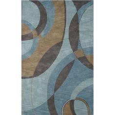 Meva Rugs Modena Blue Rug & Reviews | Wayfair
