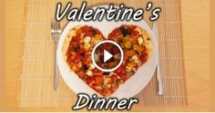 Perfect Valentine's Day Food – Heart Shaped Pizza