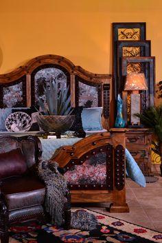Rustic Bedroom Set | Fort Worth Furniture Store | AdobeInteriors.com |  Adobe Rustic Furniture